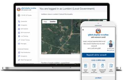 SmartPalika COVID19 Response and Disaster Management System for Lumbini Cultural Municipality